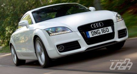 Новое купе Audi TT поступило в британские автосалоны