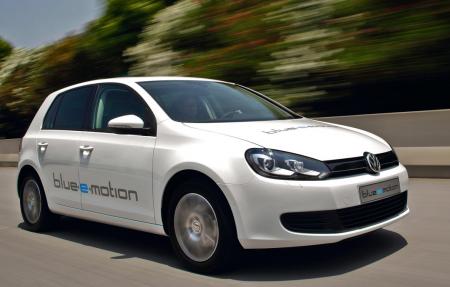 VW Golf blue-e-motion примет участие в соревнованиях RAC Future Car Challenge 2011