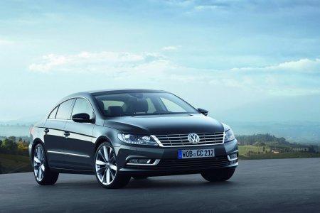 Презентация обновленного Volkswagen Passat CC 2013 [Фотогалерея]