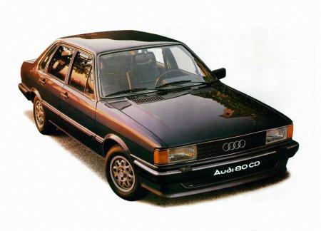 Не много истории Audi 80 (B2)