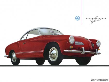 История создания VW Karmann Ghia