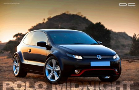 Тюнинг: DC Design создал Volkswagen Polo «Midnight»