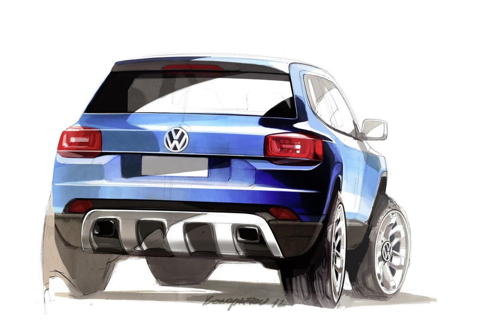 концепт-кар volkswagen taigun. тизер volkswagen