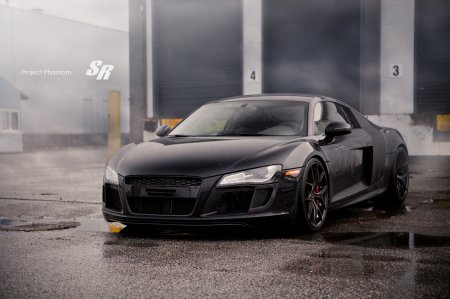 Тюнинг: SR Project Phantom -  Audi R8 на колеса PUR (Фотогалерея)