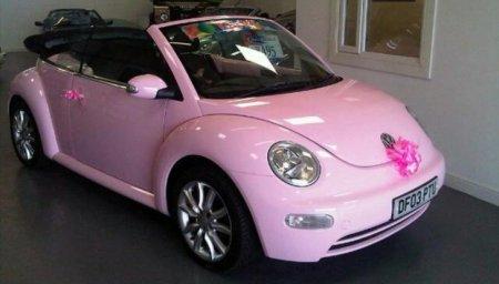 Beetle: розовая мечта Барби