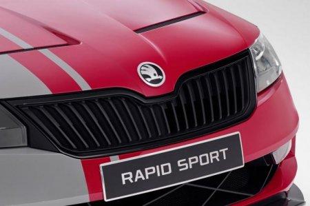 Новые фотографии концепта Skoda Rapid Sport