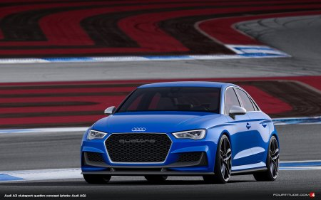 Audi4Ever blog photographer captures Audi A3 clubsport quattro concept at Wörthersee